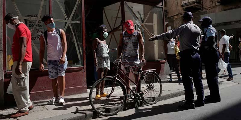 Foto en un barrio de La Habana/Sputnik