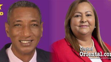Radhames Fortuna y Rocío Hidalgo