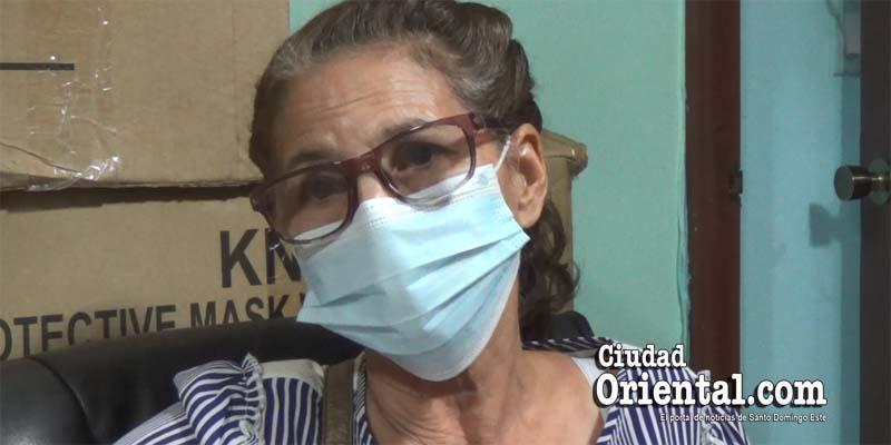 Dra. Eleonor Rosario , Encargada de Vigilancia Epidemiológica