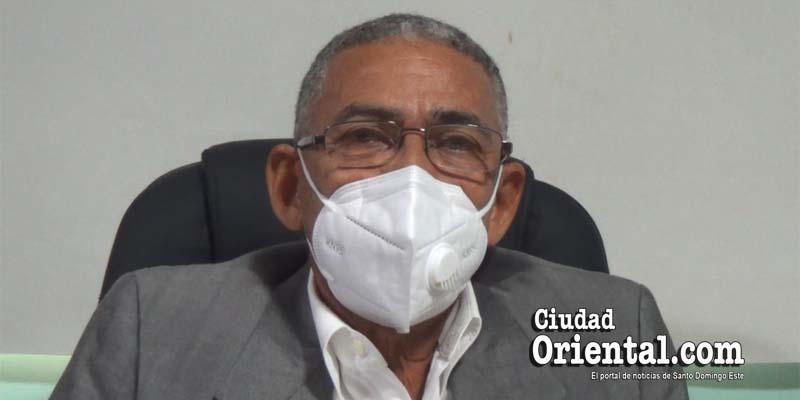 Dr. Joaquin Calcaño, Director del Area II de Salud Pública SDE