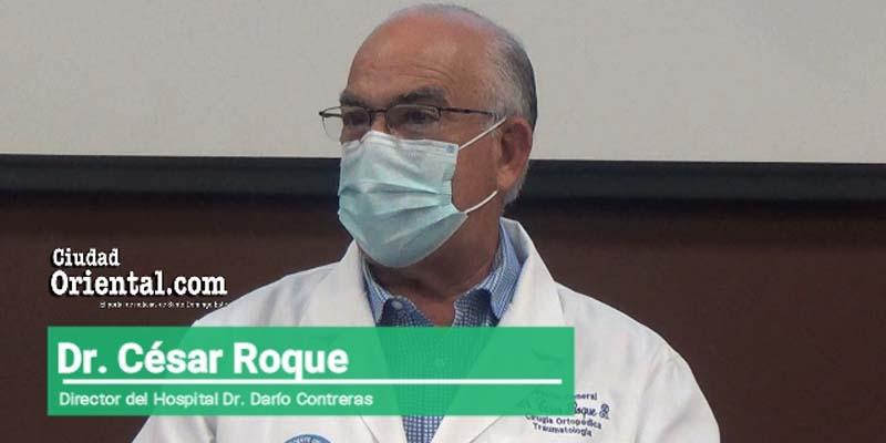 Dr. César Roque, Director del Hospital Dr. Darío Contreras