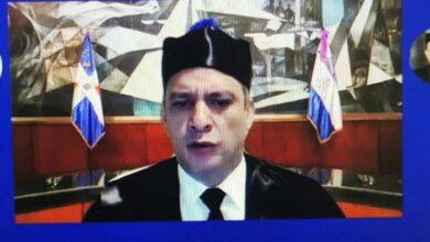 El presidente de la SCJ, magistrado Luis Henry Molina Peña