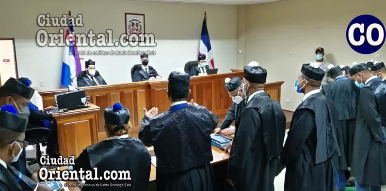 El Tribunal Colegiado de Monte Plata, conocerá el juicio de fondo.