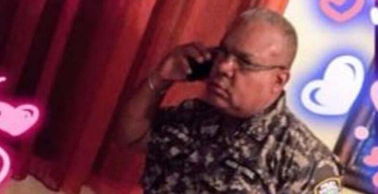 Coronel Neris Aguiar, comandante PN en Boca Chica/ Fuente La Voz Sin Censura