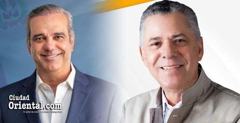 Luis Abinader y Manuel Jiménez