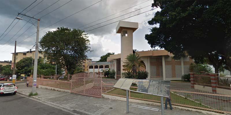 Parroquia san Juan de Avila, en Los Mameyes