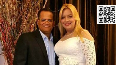 Jacobo Colón y Raquel Cruz en foto de archivo tomada del muro de esta en FaceBook