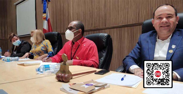 Miembros del bufete directivo del Concejo de Regidores del ASDE