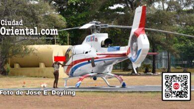 La enferma mental que pretendió tomar vuelo en un helicóptero