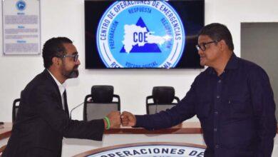 Juan Salas y mayor general (r) Juan Manuel Méndez García.