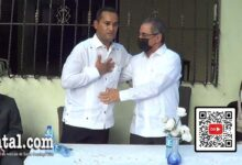 Edward Figueroa (i) y Julio Ernesto Cruz Pichardo