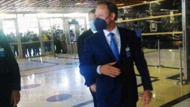`Jean Alain Rodríguez, a su llegada a la PGR (foto: fuente externa).