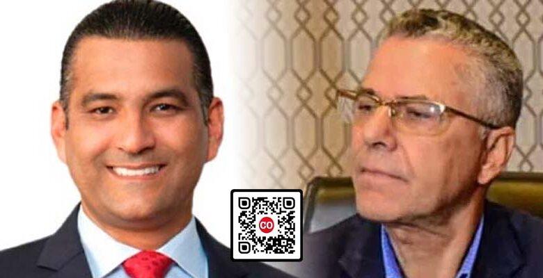 Luis Alberto Tejeda (i), y Manuel Jiménez