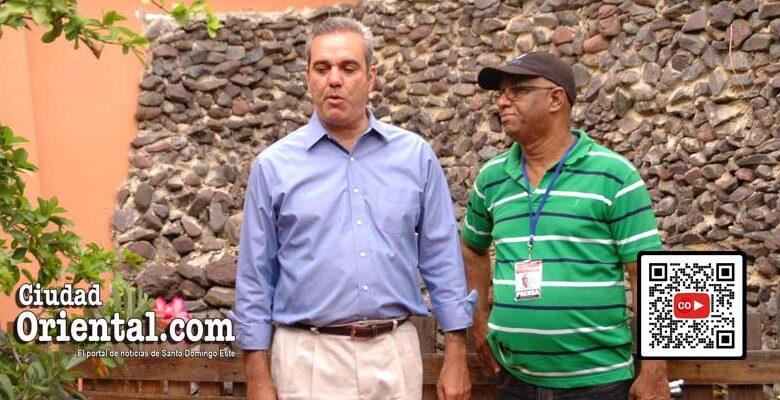 Luis Abinader (i) y Robert Vargas/ Foto Jarlen Espinosa