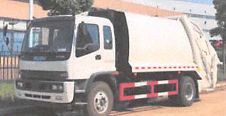 Camión ofertado por Venturebuks Investments, S.R.L al ASDE