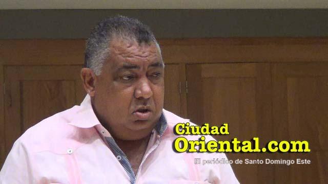 Antonio Infante, regidor PRM en el ASDE