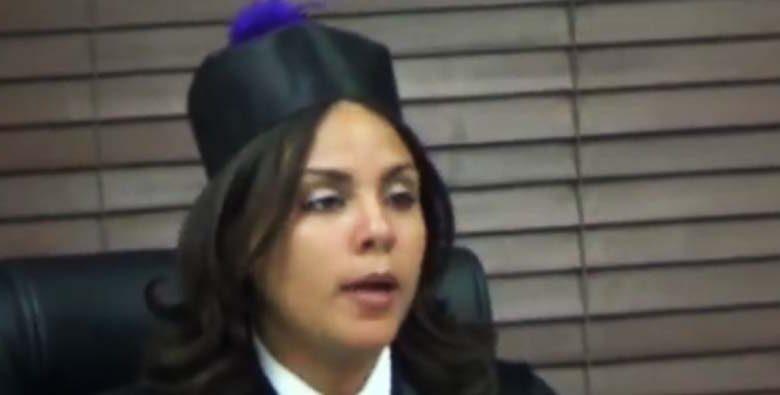Laisa M. Matos Durán, jueza de Paz Cámara Penal Santo Domingo.