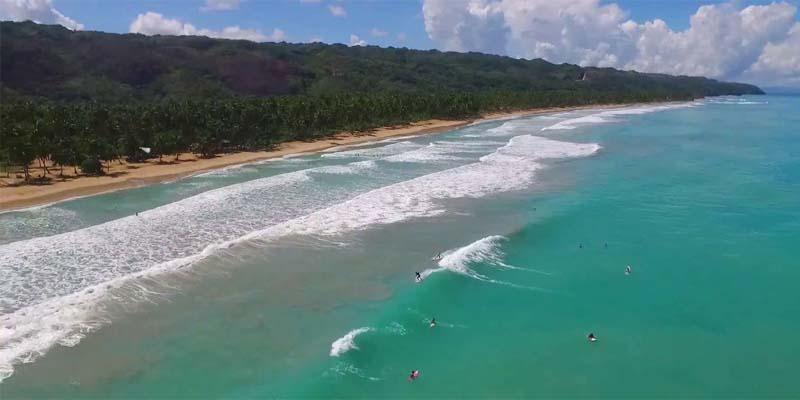 Playa Coson, en Las Terrenas, Samaná
